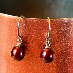 Dainty Pearl Earrings
